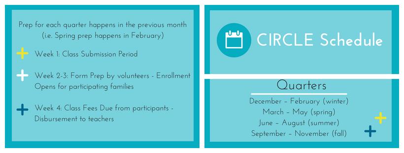 Circle Schedule WEB